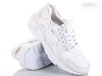 Кроссовки мужские  белые 44 копия Nike Air Huarache