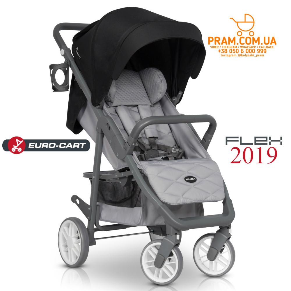 EURO-CART FLEX 2019 прогулочная коляска Anthracite Темно-серый