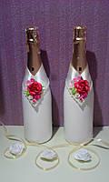 """Свадебные бутылки """" Неповторимость лепестков"""""""