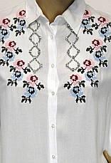Вишита жіноча сорочка- блузка, фото 3