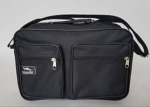 Мужская сумка «Wallaby» черного цвета с одним основным отделением