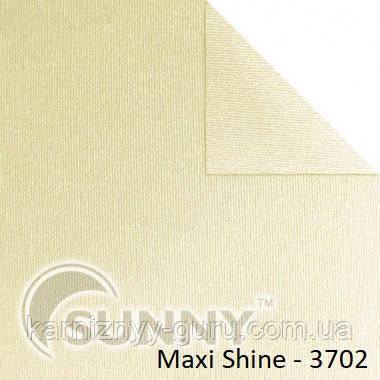 Рулонные шторы для окон в открытой системе Sunny, ткань Maxi Shine - 1