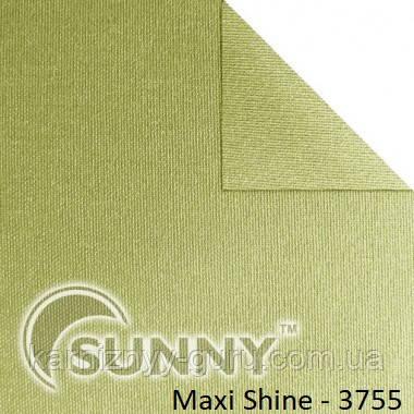 Рулонные шторы для окон в открытой системе Sunny, ткань Maxi Shine - 2