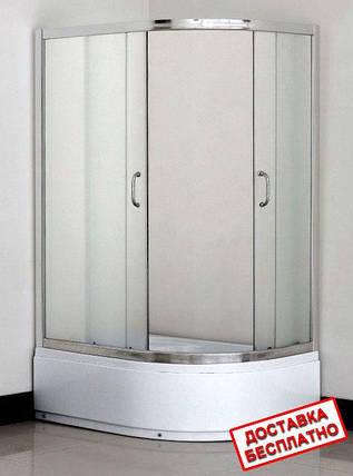 Душевая кабина асимметричная Santeh 1115115х85, фото 2