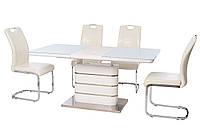 Стол кухонный обеденный белый TМ-52-1, фото 1
