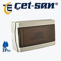 Коробка під автомат влагозащитная 12 IP54 (0590) Get-San