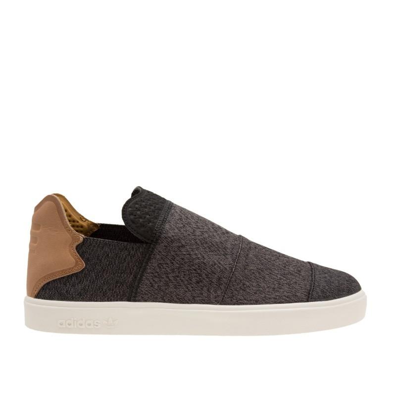f6ce894e Кеды мужские adidas Originals Slip-On AQ5781 (темно-серые, повседневные,  тканевый