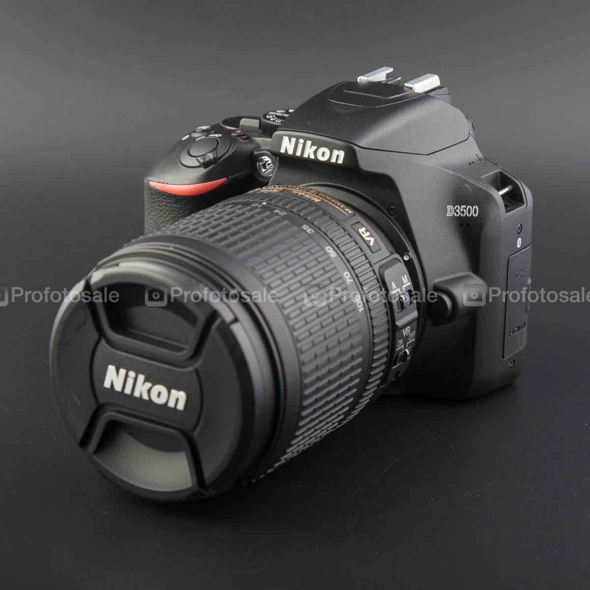 Nikon d3500 kit 18-105
