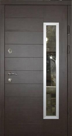Двери уличные, PRESTIGE 970*2050, модель МЛ20, 2 замка, стеклопакет, фото 2