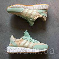 "✔️ Кроссовки Adidas Iniki Runner ""Teal/Grey""  , фото 2"