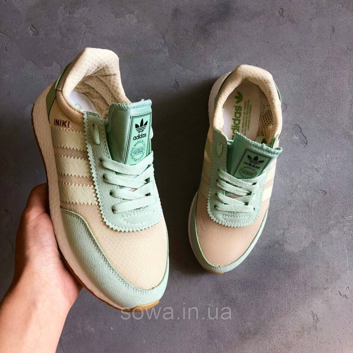 "✔️ Кроссовки Adidas Iniki Runner ""Teal/Grey"""