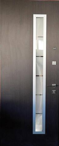 Двери уличные, модель 20-44, 970х2050мм. Prestige, коробка 110мм, стеклопакет, фото 2
