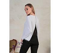 7c2cf8c4614 Блуза Белая с Жабо — Купить Недорого у Проверенных Продавцов на Bigl.ua
