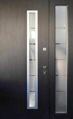 PRESTIGE 1170*2050, модель МЛ23, 2 замка, полуторные, стеклопакет, фото 2