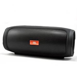 Беспроводная портативная Bluetooth колонка в стиле Jbl Charge 4 черная 130398