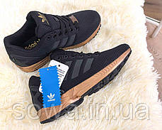 "✔️ Кроссовки Adidas ZX Flux ""Light Copper Metallic""  , фото 2"
