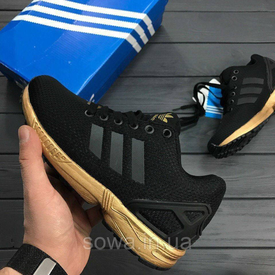 "✔️ Кроссовки Adidas ZX Flux ""Light Copper Metallic"""