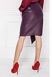 Оригинальная Молодежная юбка  из экокожи  42-58р, фото 7