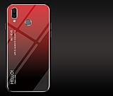 Чохол-накладка HELLO TPU + Gradient для Xiaomi Redmi Note 7 / Note Pro / скла /, фото 4