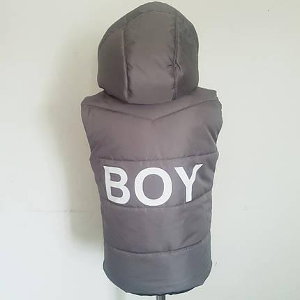 Жилет для мальчиков(серый), фото 2