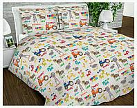 Ткань для пошива постельного белья бязь Голд сублимация 18