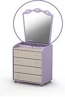 Зеркало для комода Si-07-1 детская мебель.