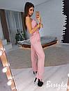 Женский комбинезон с клешем и на бретелях 66kos1020, фото 2
