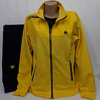 Жёлтый женский спортивный костюм Турция, Soccer.