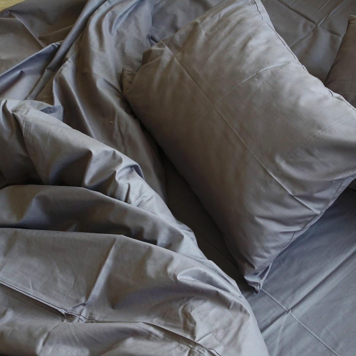 """Комплект двуспальный постельного белья ТМ """"Ловец снов"""", Графит"""
