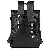 Чоловічий шкіряний рюкзак G-7344A-1, фото 4