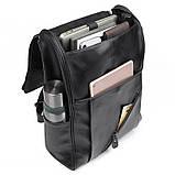 Чоловічий шкіряний рюкзак G-7344A-1, фото 5