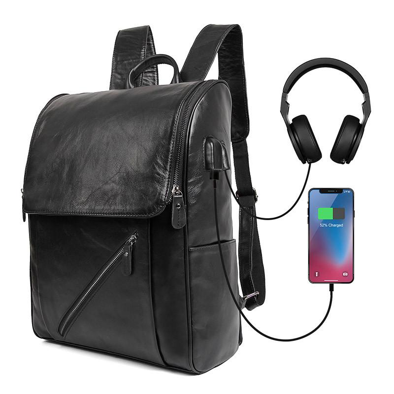 Чоловічий шкіряний рюкзак G-7344A-1