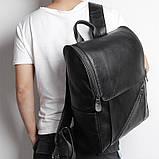 Чоловічий шкіряний рюкзак G-7344A-1, фото 7