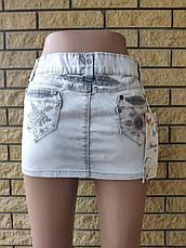 Юбка  женская джинсовая стрейчевая ATENTA, Турция, фото 2