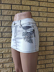 Юбка  женская джинсовая стрейчевая ATENTA, Турция, фото 3