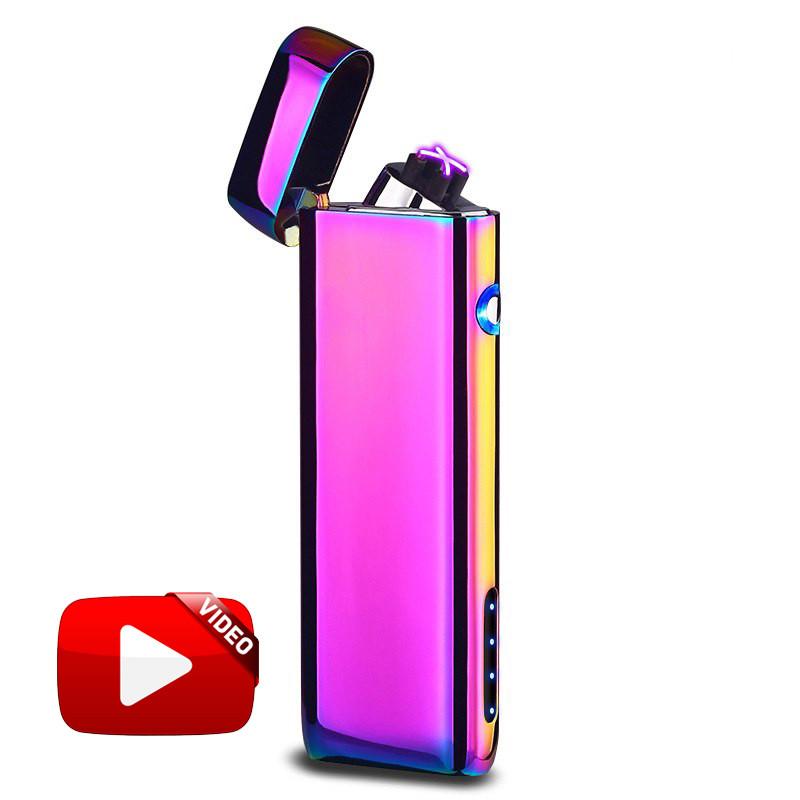 Электроимпульсная USB зажигалка Strait Chameleon 062_2