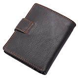 Натуральный кожаный кошелек 8149A, фото 7