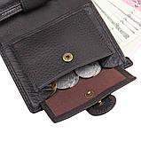 Натуральный кожаный кошелек 8149A, фото 9