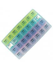 Таблетница - органайзер для таблеток на 28 дней, контейнер