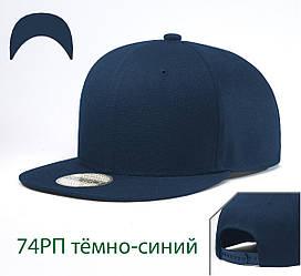 Кепка Снепбек, 6 панелей, L / 57-58 RU, Акрил; Шерсть, Синий, Inal