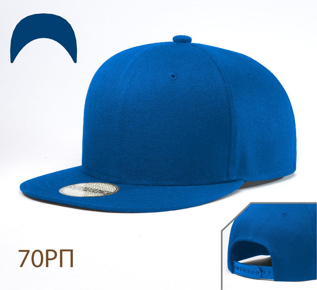 Кепка Снепбек, 6 панелей, L / 57-58 RU, Акрил; Шерсть, Электрик, Inal