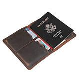 Тримач для паспорта Crazy Horse 8435R, фото 6