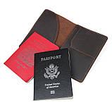 Тримач для паспорта Crazy Horse 8435R, фото 5