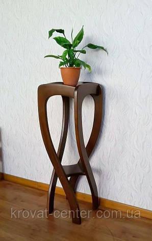 """Напольная подставка под вазоны из натурального дерева """"Адель"""", фото 2"""