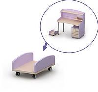 Мобильный блок Si-10 детская мебель.