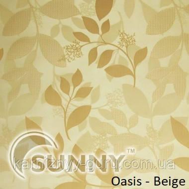Рулонные шторы для окон в открытой системе Sunny, ткань Oasis