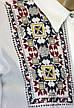 Жіноча сорочка штапель, декорована вишивкою, фото 3