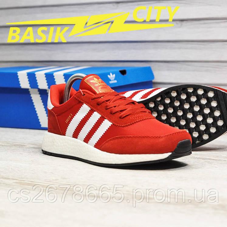 Мужские кроссовки Adidas Iniki Red White