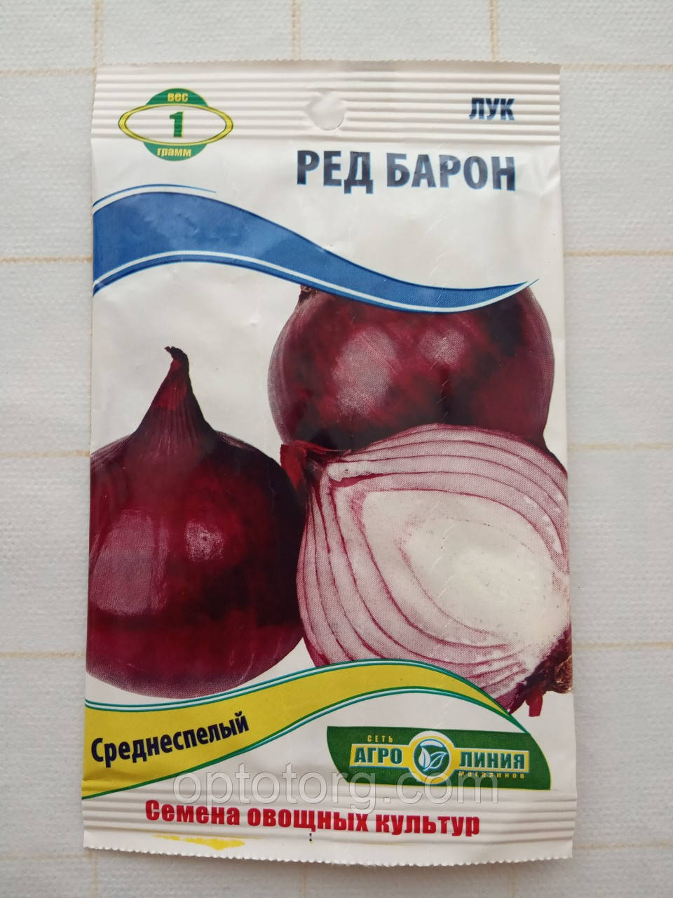 Семена лука Ред барон 1 гр