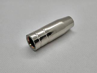 Сопло газовое MIG 14/15 - коническое D 12, 0/52, 0мм, под пружинку, 145.0075A, A-Weld